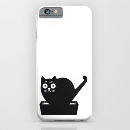 Surprised cat! iPhone Case