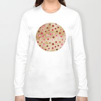 polka dots Long Sleeve T-shirts featuring Polka Dot Pattern 04 by Aloke Design