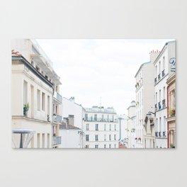 Paris France Sunny Day Skyline Buildings Canvas Print