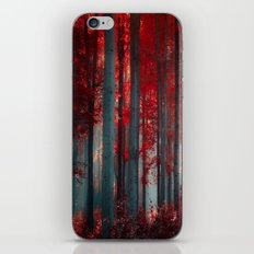 Magical trees iPhone & iPod Skin