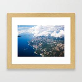 Upwards Framed Art Print
