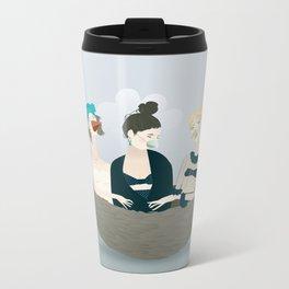 Over the ladies' nest  Metal Travel Mug