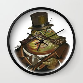 Sir Jabba the Hutt Wall Clock