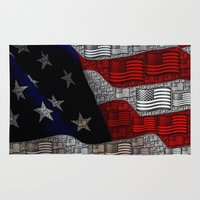 american Area & Throw Rugs featuring American by Tracy66