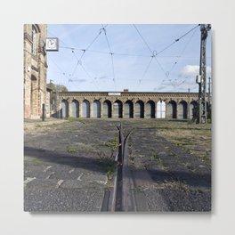 Old Tramstation - Depot - Berlin - Pankow Metal Print