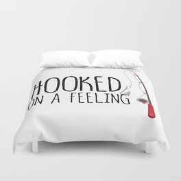 Hooked On A Feeling | Fishing Duvet Cover