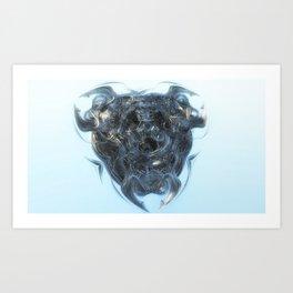 fractal triangle Art Print