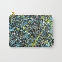Galaxy Splatter Paint Art Carry-All Pouch