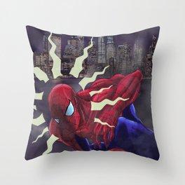 Spidey Sense Throw Pillow