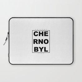 Chernobyl disaster design Laptop Sleeve