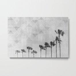 California Vibes | monochrome art Metal Print
