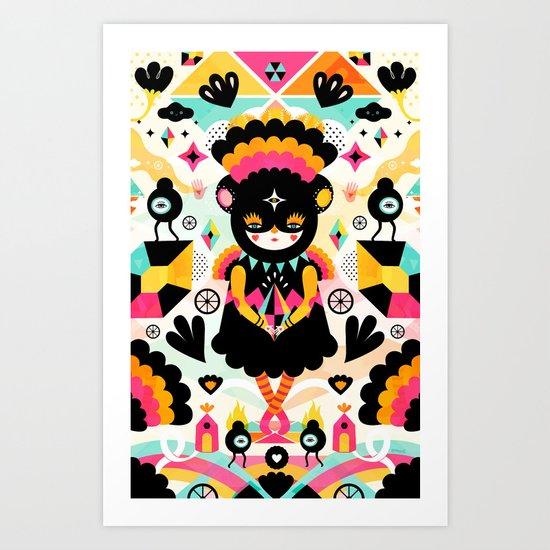 Naiki Art Print