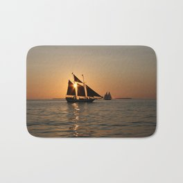 Sails and Sunsets Bath Mat