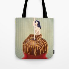 Candy Apple Girl Tote Bag