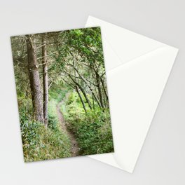 Single Track in Marin County - 35mm Film Stationery Cards