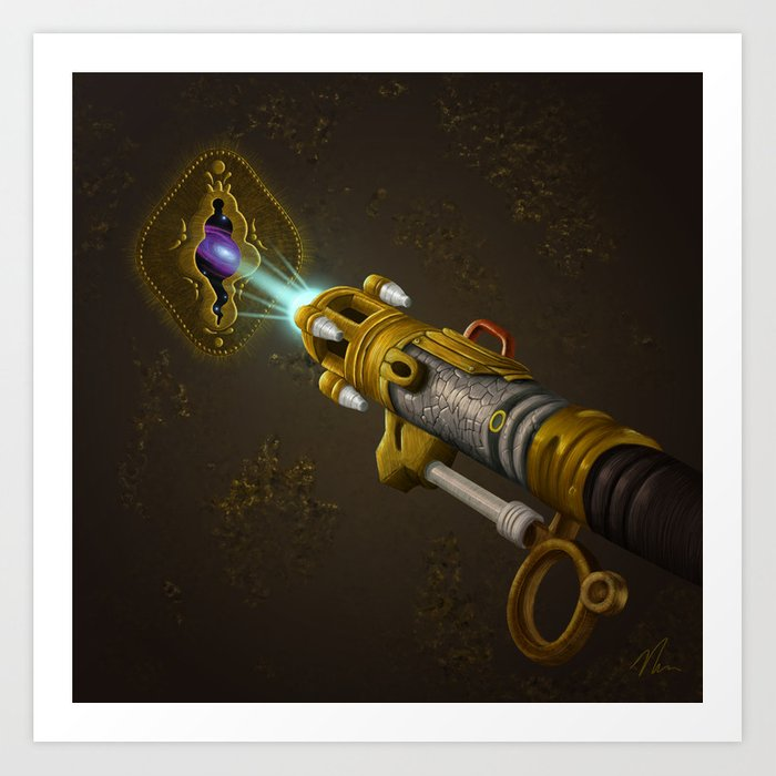 Key To The Universe - Painting Art Print