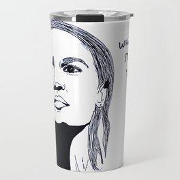 Alexandria Ocasio-Cortez Travel Mug