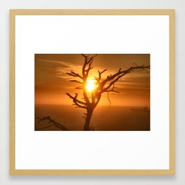 The Sun Always Shows its Power Framed Art Print