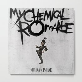 MCR - The Black Parade Metal Print