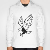 eagle Hoodies featuring Eagle  by ArtSchool