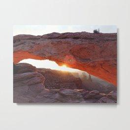 Mesa Arch, UT Metal Print
