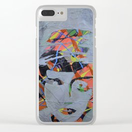 When You are as MAD as a Hatter Clear iPhone Case