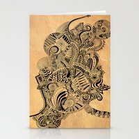 labyrinth Stationery Cards featuring Labyrinth by DuckyB