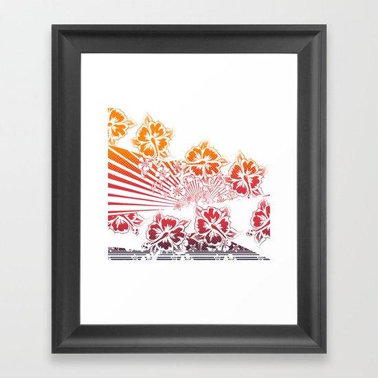 Hawaii Five-O Light Framed Art Print