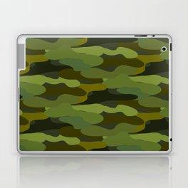 Khaki camouflage Laptop & iPad Skin