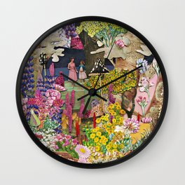 In the Shadow of a Fairytale Wall Clock