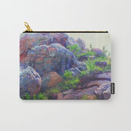 Rocks at Lukenya Hills, Africa by William R. Leigh Carry-All Pouch