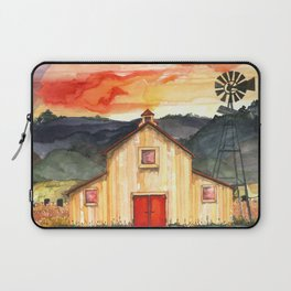 Country Sunset Laptop Sleeve