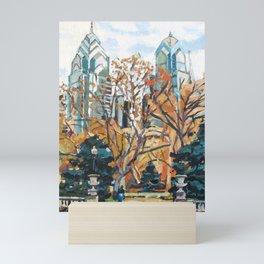 Rittenhouse Square, Philadelphia Mini Art Print