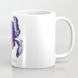 T.F TRAN PURPLE LEOPARD IRIS Coffee Mug