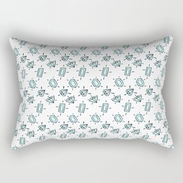 Diamondssssss Rectangular Pillow