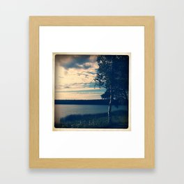 BIRCH Framed Art Print