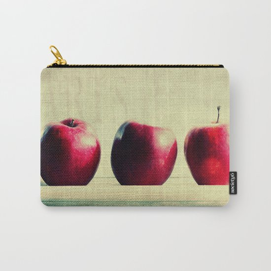 three apples Carry-All Pouch