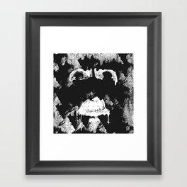 GNARLY FACE Framed Art Print