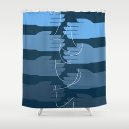 Hand Crafted Shower Curtain