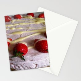 Sumptuous Strawberry Sweet Stationery Cards