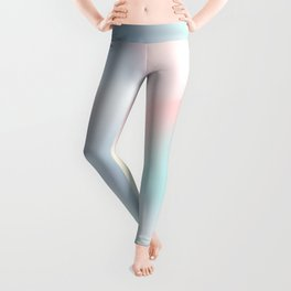Rainbow Abstract (Soft Pastel) Leggings