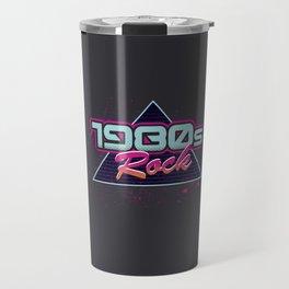 1980s Rock Travel Mug