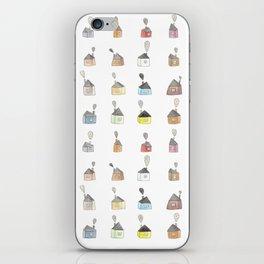 les petites maisons douillettes iPhone Skin