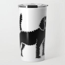I have Connected the Beagle Doggy Dots! Travel Mug