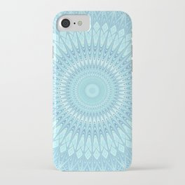 Ice Star Mandala iPhone Case