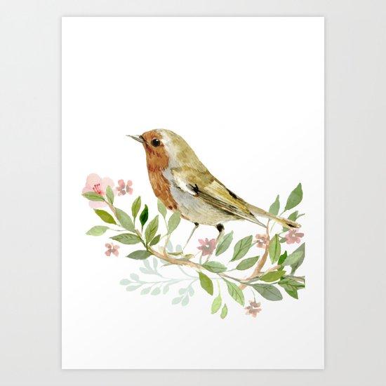 bird 3 Art Print