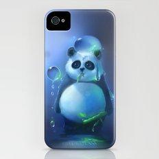 aqua panda Slim Case iPhone (4, 4s)