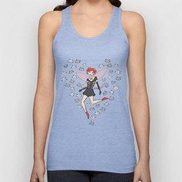 Cat-girl fairy Unisex Tank Top