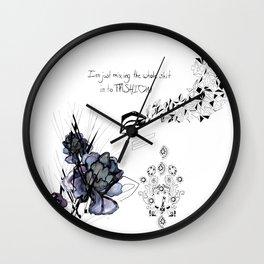 Fashion Melting Pot Wall Clock