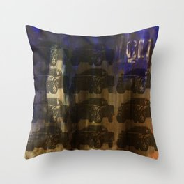 Death Of Detroit  Throw Pillow